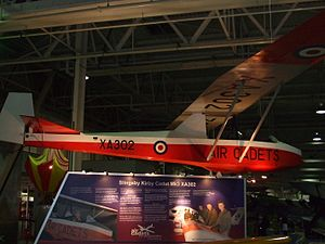 Slingsby Tandem Tutor - Cadet TX3 at the RAF Museum