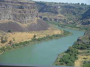 Snake River in Idaho