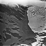 Snow River Glacier and Lake, snow and ice covered lake and valley glacier in the background, September 3, 1977 (GLACIERS 6863).jpg