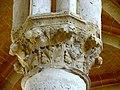 Soissons (02), abbaye Saint-Jean-des-Vignes, réfectoire, chapiteau du 3e pilier libre (du sud au nord).jpg