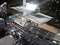 Solar dryer using Fresnel lenses to concentrate the sunlight. (13359965764).jpg