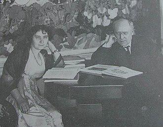 Fyodor Sologub - Image: Sologub F.K. & Cebotarevskaia A.N. 1910 e Karl Bulla