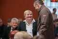 Solvita Āboltiņa tiekas ar Latvijas olimpisko komandu XXII Ziemas olimpiskajās spēlēs Sočos (12812489244).jpg