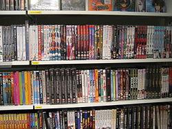 Some anime at SF-bok - GBG, 27 mars 2007.jpg