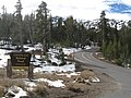 Sonora Pass Trailhead in the snow (8412256348).jpg