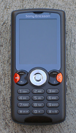 Sony Ericsson W810 - Image: Sony Ericsson W810i 001