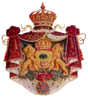 Arms of dominion - Image: Soulouque coat of arms