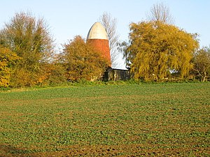 Clavering Windmills - Image: South Mill, Clavering