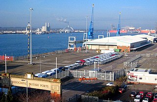 Port of Southampton Passenger and cargo port in Southampton, England