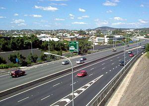 Pacific Motorway (Brisbane–Brunswick Heads) - Image: Southeast freeway