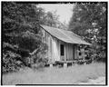 Southeast view - Vance Farmstead, Tenant House A, State Route 88, Hephzibah, Richmond County, GA HABS GA,123-HEPH,1B-2.tif