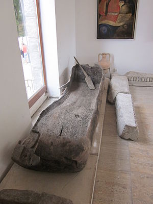 Early Slavs - Dugout canoe found in Bulgaria