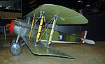 Spad VII, Museum of the US Air Forces, Dayton, Ohio. (41847628062).jpg