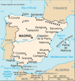 Module Location Map Data Spain Wikipedia
