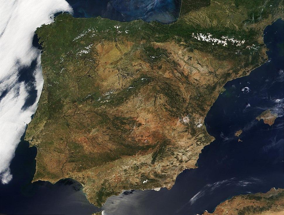 Spanje satelliet