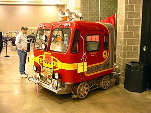 Fairmont Railway Motors - Fairmont MT-14 speeder in February 2004