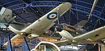 Spitfire Ia 'P9444' & Hurricane I 'L1592' – Science Museum, London (19183959002).jpg
