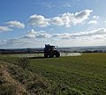 Spraying Winter Wheat near Worlaby - geograph.org.uk - 1739571.jpg