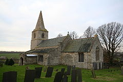 St.Thomas' church, Bassingthorpe, Lincs. - geograph.org.uk - 90736.jpg