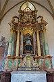 St. Blasius Regensburg Albertus-Magnus-Platz 1 D-3-62-000-24 51 Nördliches Seitenschiff Nepomukaltar.jpg