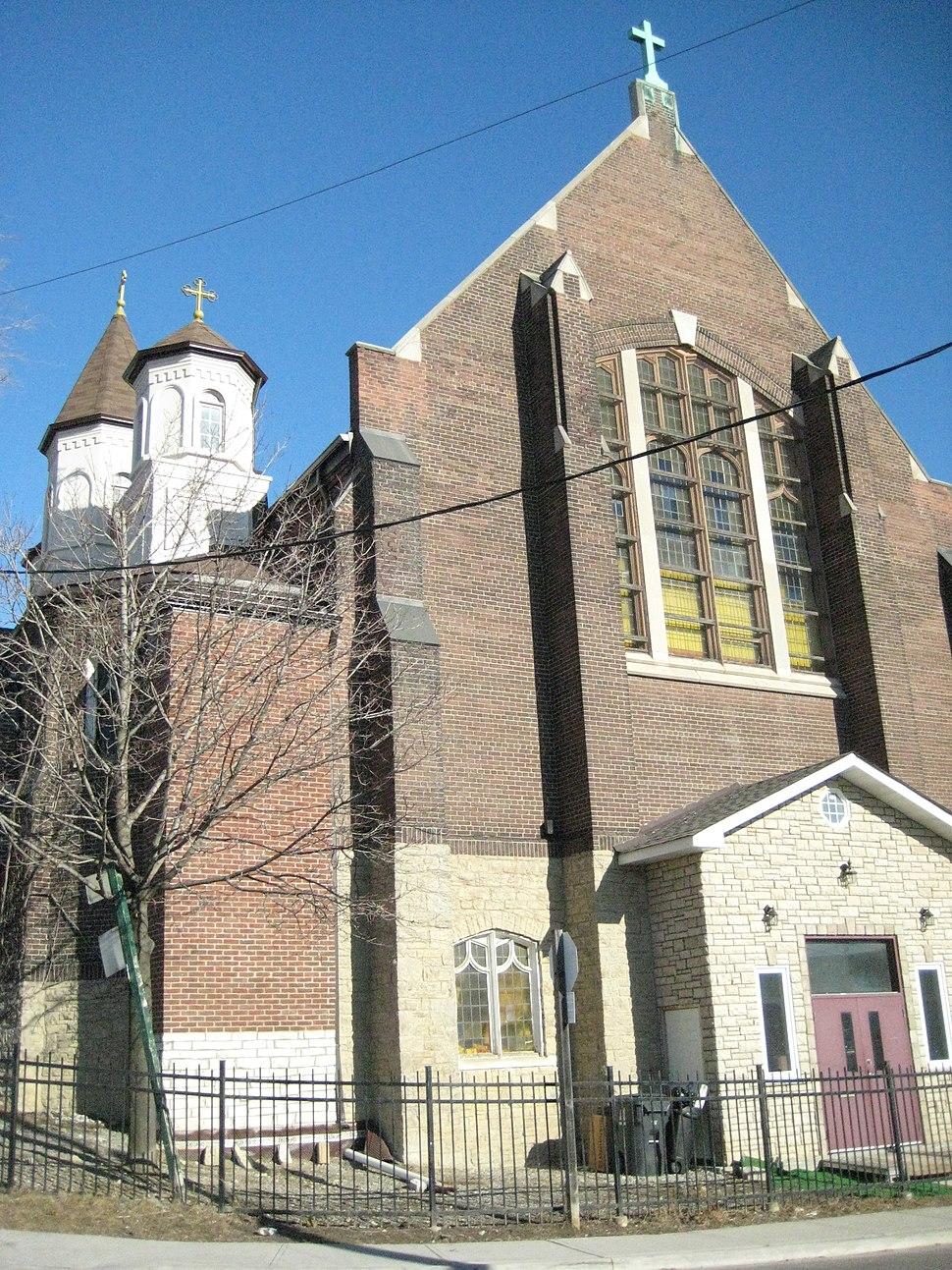 St. George Church, Romanian