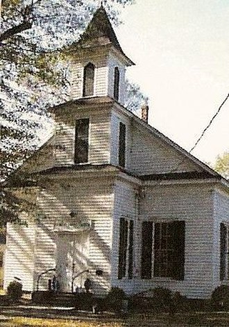 Robersonville Primitive Baptist Church - Image: St. James Place Museum