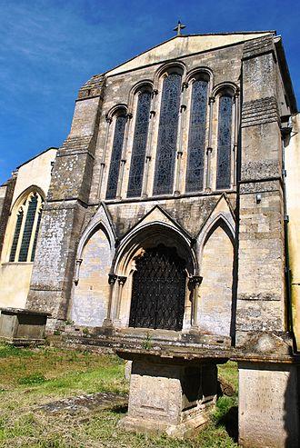 Berkeley, Gloucestershire - St. Mary's, Berkeley and churchyard