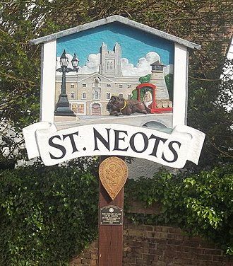 St Neots - Image: St. Neots Sign