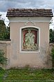 St. Nicholas, Fladnitz - shrine with evangelist Luke.jpg