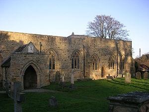 Wycliffe, County Durham - Image: St Marys Wycliffe