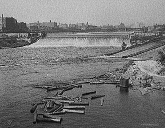 Northeast, Minneapolis - Saint Anthony Falls, 1908