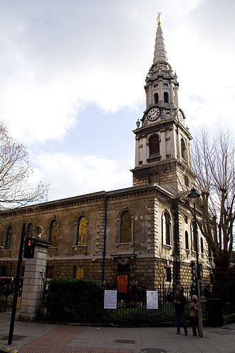 St Giles in the Fields - Church of St Giles-in-the-Fields, London