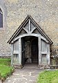 St John the Baptist, Clayton, Sussex - Porch - geograph.org.uk - 1506236.jpg