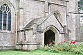St Laurence, Combe, Oxon - Porch - geograph.org.uk - 1624522.jpg