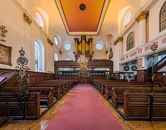 St Margaret Pattens - Image: St Margaret Pattens Interior 2, London, UK Diliff