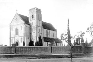 St Mary's Cathedral, Perth - The original cathedral building in 1894