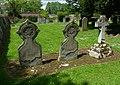St Mary the Virgin's Church, The Street, Shalford (May 2014) (Gravestones).JPG