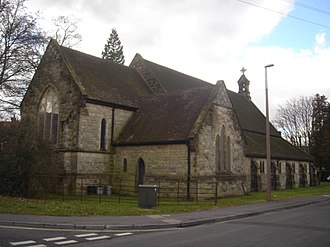 West Green, West Sussex - Image: St Peter's Church, West Green, Crawley 01