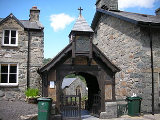 St Twrog's Church, Maentwrog - Lych Gate at St. Twrog's Church, Maentwrog