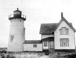 Stage Harbor Light - US Coast Guard photo