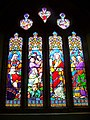 Stained Glass Window, All Saints Church - geograph.org.uk - 1057254.jpg