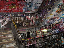 Staircase at Kunsthaus Tacheles