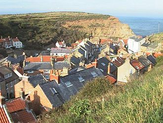 Staithes - Staithes rooftops