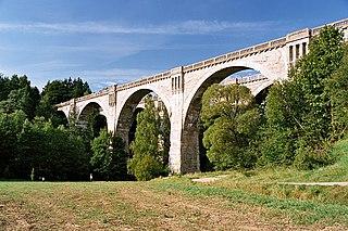 Najwyższy wiadukt kolejowy w Polsce