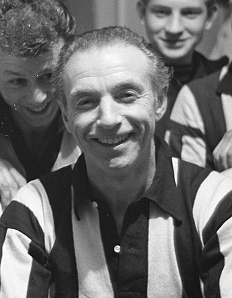 English Football Hall of Fame - Stanley Matthews, inducted in 2002.