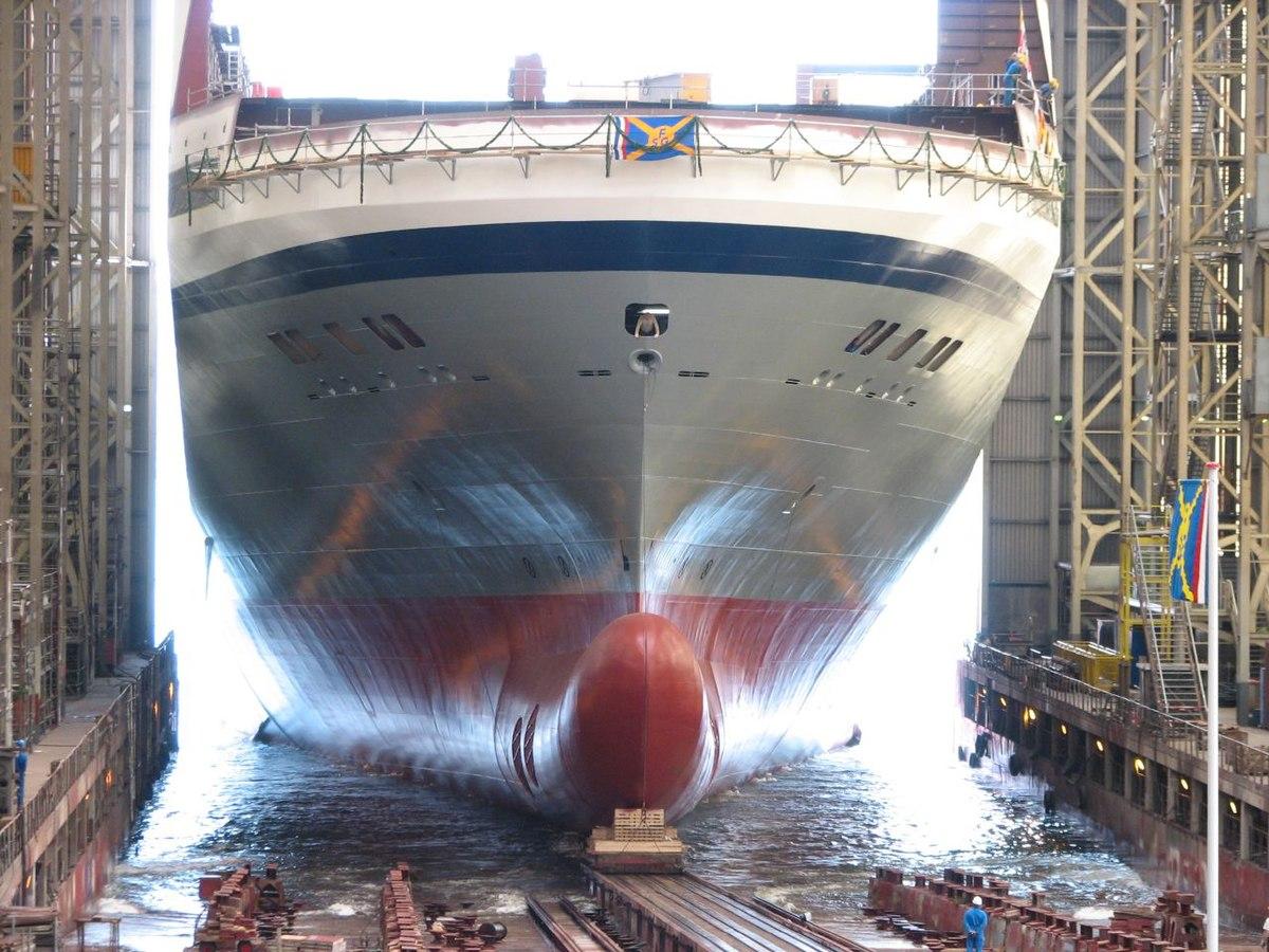 Lancement d 39 un navire wikip dia - Glissement d un solide sur un plan incline ...