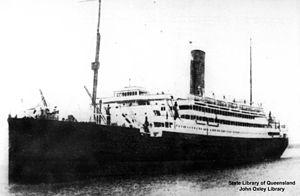 RMS Alcantara (1913) - Image: State Lib Qld 1 125487 Alcantara (ship)