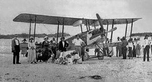 Avro 548 - Avro 548, 1922