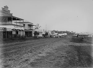 Beaudesert, Queensland - Brisbane Street, 1908