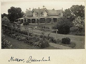 Cambooya, Queensland - Harrow homestead
